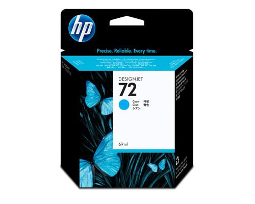 Картридж струйный HP 72 C9398A голубой оригинальный - (172141К)