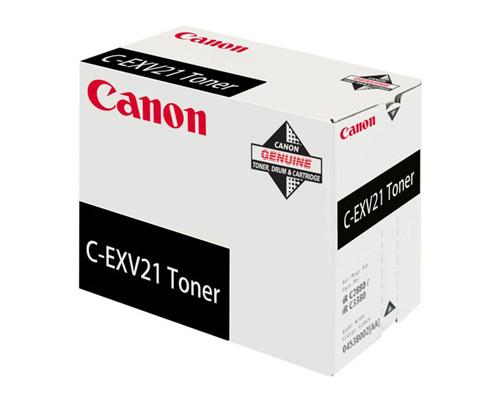 Картридж лазерный Canon C-EXV21 0452B002 черный - (194109К)
