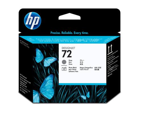 Головка печатающая HP 72 C9380A фото черная и серая - (147953К)