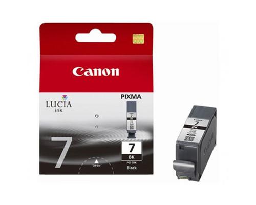 Картридж струйный Canon PGI-7BK 2444B001 черный оригинальный - (186603К)
