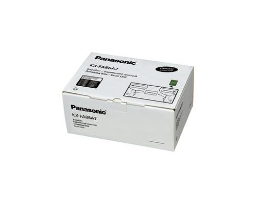Драм-картридж Panasonic KX-FA86A/A7 черный оригинальный - (161554К)