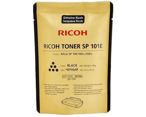 Тонер Ricoh SP 101E 407062 черный оригинальный - (541245К)