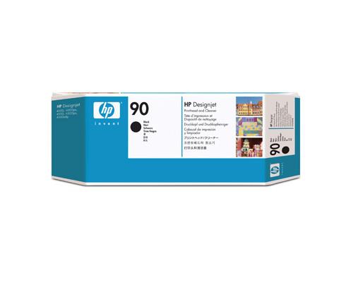 Головка печатающая HP 90 C5054A черная - (147989К)