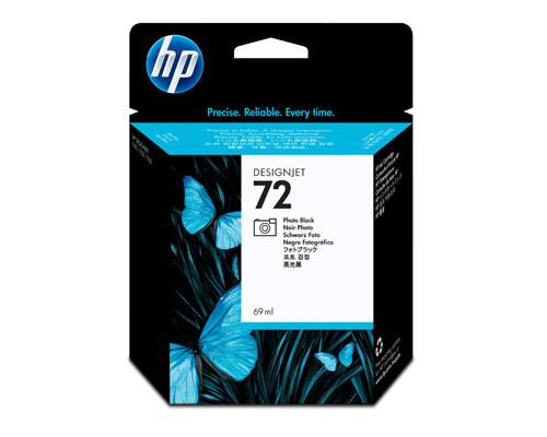 Картридж струйный HP 72 C9397A фото черный оригинальный - (172143К)