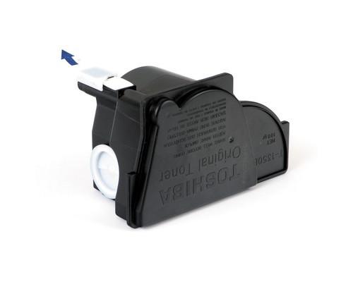 Тонер Toshiba T-1350E черный оригинальный - (1619К)