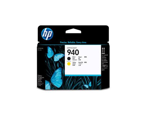 Головка печатающая HP 940 C4900A черная и желтая - (149945К)