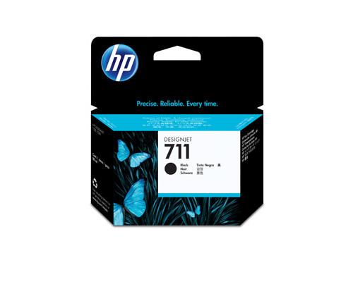 Картридж струйный HP 711 CZ133A черный повышенной емкости оригинальный - (316329К)