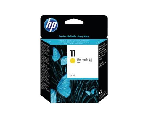 Картридж струйный HP 11 C4838AE желтый оригинальный - (46310К)