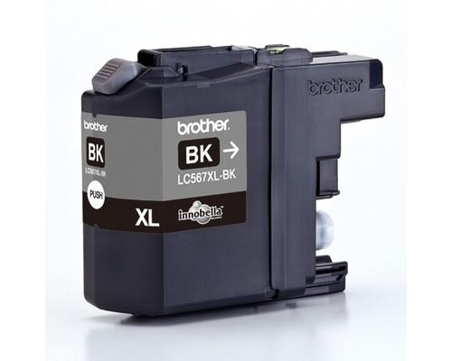 Картридж струйный Brother LC567XLBK черный повышенной емкости оригинальный - (325245К)