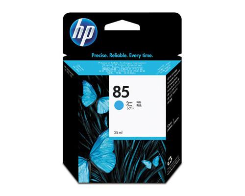 Картридж струйный HP 85 C9425A голубой оригинальный - (147974К)