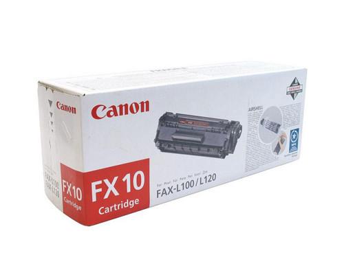 Картридж лазерный Canon FX-10 0263B002 черный оригинальный - (70905К)