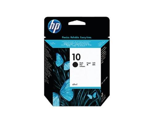 Картридж струйный HP 10 C4844A/C4840A черный оригинальный - (18774К)