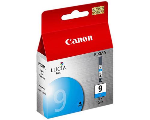 Картридж струйный Canon PGI-9C 1035B001 голубой оригинальный - (186606К)