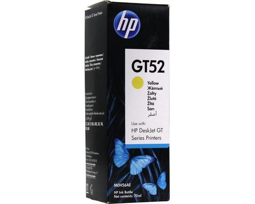 Контейнер с чернилами HP GT52 M0H56AE желтый оригинальный - (658869К)