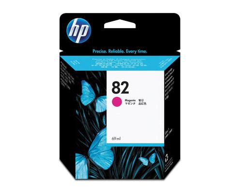 Картридж струйный HP 82 C4912A пурпурный оригинальный - (34434К)
