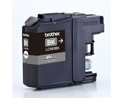 Картридж струйный Brother LC563BK черный оригинальный - (309084К)
