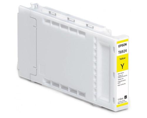 Картридж струйный Epson T6924 C13T692400 желтый оригинальный - (311639К)