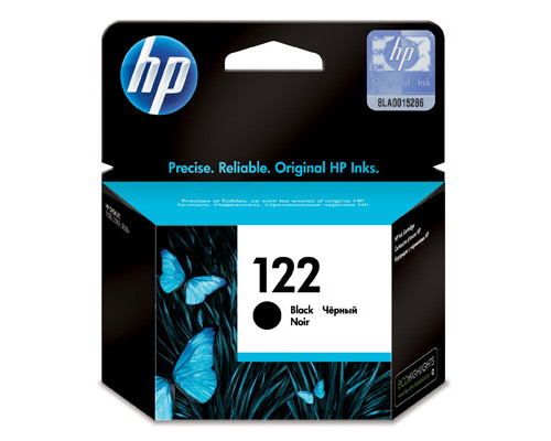 Картридж струйный HP 122 CH561HE черный оригинальный - (178616К)