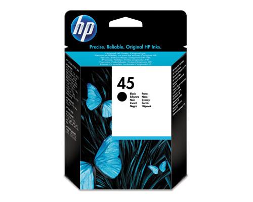Картридж струйный HP 45 51645AE черный повышенной емкости оригинальный - (2400К)
