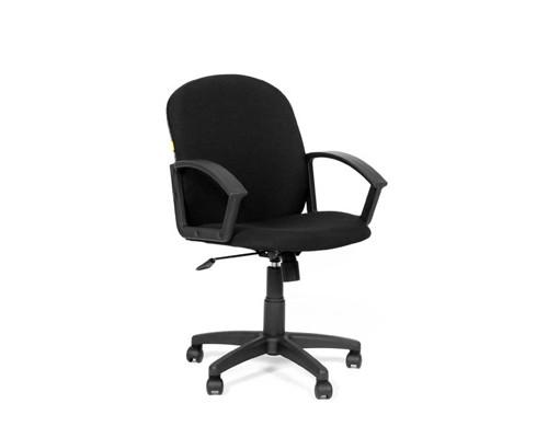 Кресло офисное Chairman 681 черное ткань/пластик - (124478К)