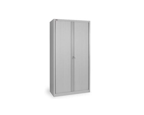 Шкаф тамбурный металлический КД144К гардеробный металл/пластик 1000x485x1985 мм) - (330594К)