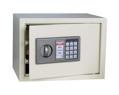 Сейф мебельный Onix LS-20 белый электронный замок с аварийным ключом - (194388К)