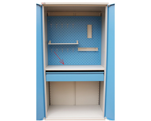 Полка для инструментального шкафа ВЛ-05 1018x560x22 мм - (161462К)