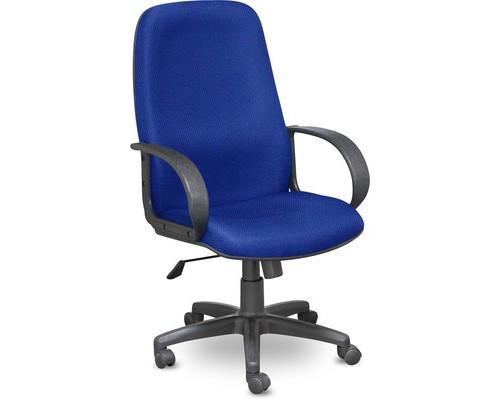 Кресло для руководителя Easy Chair 625 TJP синее ткань/пластик - (335722К)