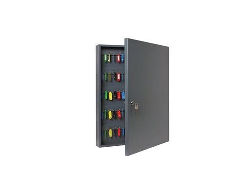 Шкаф для ключей Onix К-130 темно-серый на 130 ключей металлический - (604474К)