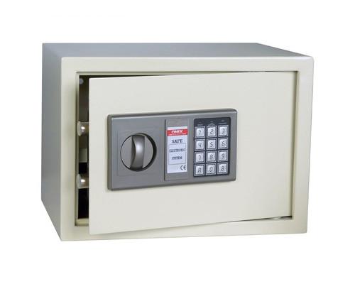 Сейф мебельный Onix LS-22 белый электронный замок с аварийным ключом - (194389К)