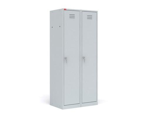 Шкаф для одежды металлический ШРМ-22М 2 отделения 800x500x1860 мм - (125457К)