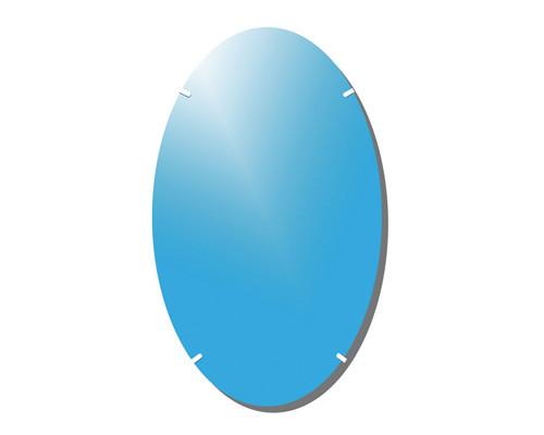 Зеркало настенное Классик-3 овальное 1000x600 мм - (158597К)