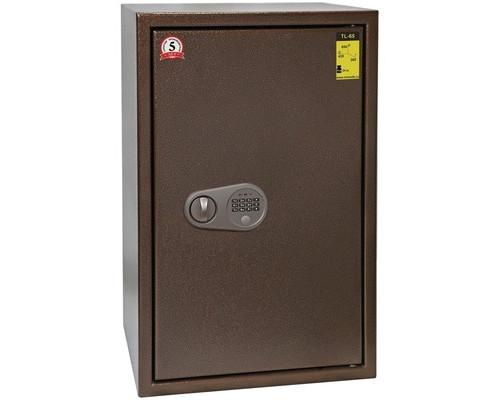 Сейф мебельный Onix TL-65MЕs с трейзером коричневый электронный замок - (618816К)