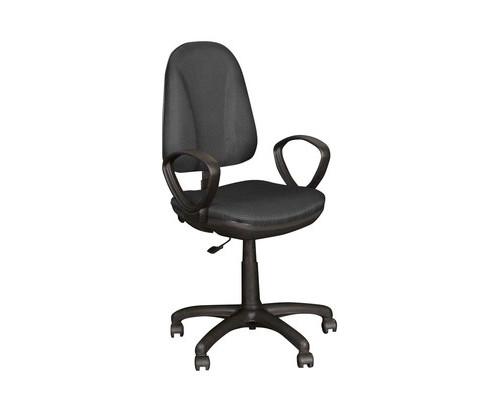 Кресло офисное Easy Chair Pegaso темно-серое ткань/пластик - (123951К)