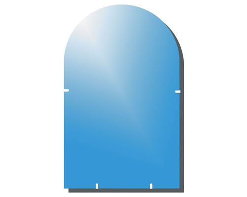 Зеркало настенное Классик-2 с аркой 1000x600 мм - (139923К)