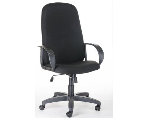 Кресло для руководителя CH 279 Амбасадор черное (ткань/пластик - (667768К)