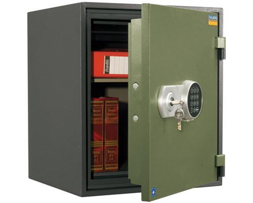 Сейф огнестойкий Valberg FRS-51 EL ключевой и электронный замки - (148541К)