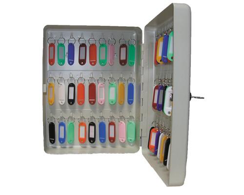 Шкаф для ключей Shuh RU KB-50 серый на 50 ключей металлический - (135822К)
