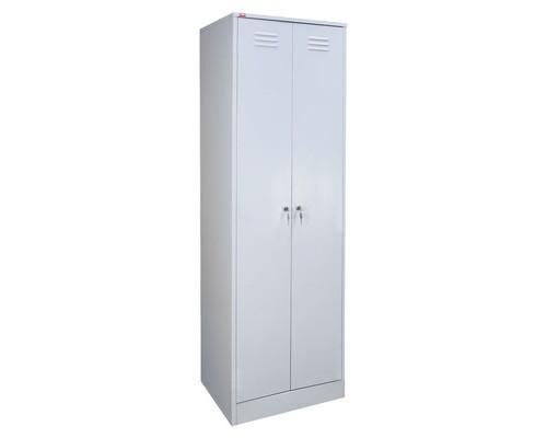 Шкаф для одежды металлический Cobalt ШРМ-АК 2 отделения 600x500x1860 мм - (125453К)