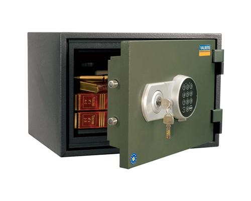 Сейф огнестойкий Valberg FRS-30 EL ключевой и электронный замки - (148535К)
