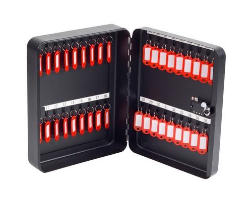 Шкаф для ключей Office-Force 20092 черный на 36 ключей металлический - (161479К)