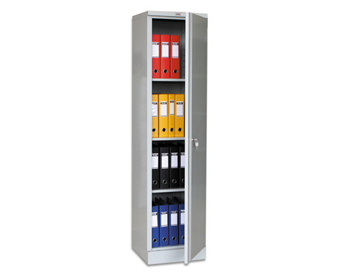 Шкаф архивный металлический Практик АМ 1845 472x458x1830 мм - (44640К)
