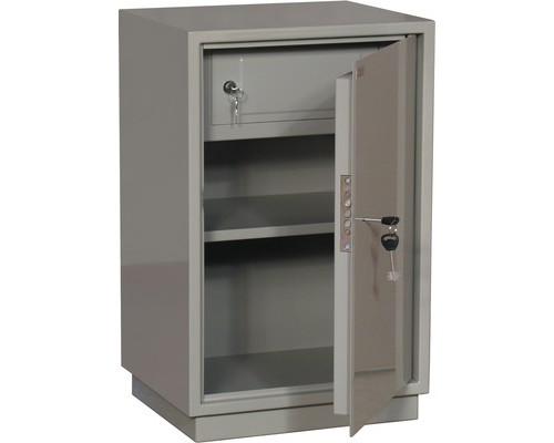 Шкаф бухгалтерский металлический КБС 011т трейзер ключевой замок 420x360x670 мм - (178309К)