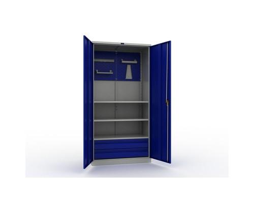 Шкаф инструментальный Практик комплект №2 950x500x1900 мм - (450828К)