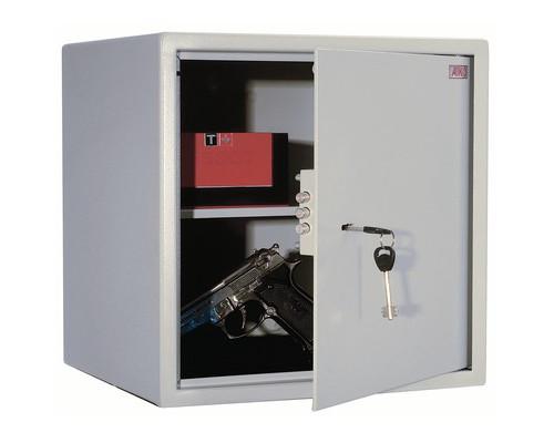 Сейф мебельный Aiko Т-40 светло-серый ключевой замок - (134925К)