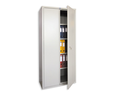 Шкаф архивный металлический Практик АМ 1891 915x458x1830 мм - (23994К)