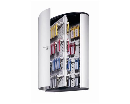 Шкаф для ключей Durable 1955-23 серый на 72 ключа алюминиевый - (195503К)