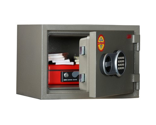 Сейф огнестойкий AIKO FRS-290 E коричневый электронный замок - (667756К)