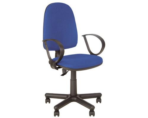 Кресло офисное Jupiter синее ткань/пластик/металл - (508872К)