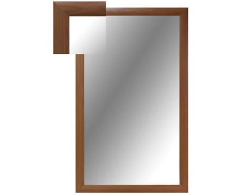 Зеркало настенное Attache 1000x600 мм вишня - (252284К)